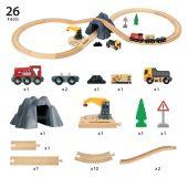 Transport Set mit Tunnel - Cargo Tunnel Set