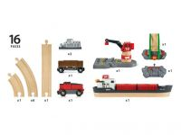 Containerzug Set - Cargo Harbour Set